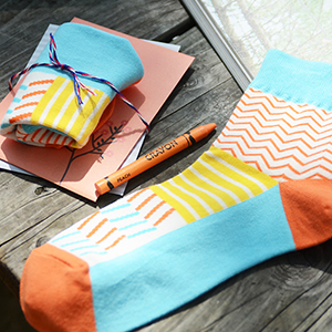 openroom socks-summer orange
